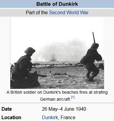 Battle of Dunkirk Hiter