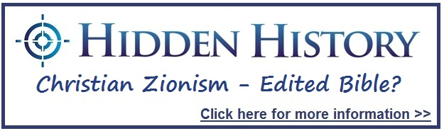 Christian Zionism Hidden History Button Target Freedom USA