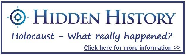 Holocaust Hidden History Button Target Freedom USA