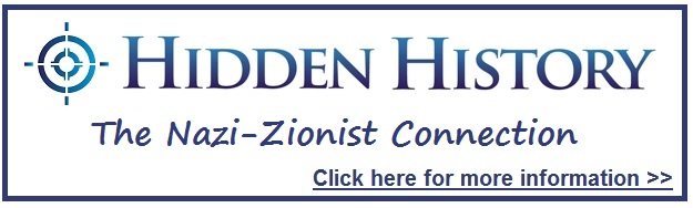 Nazi Zionist Connection Hidden History Button Target Freedom USA