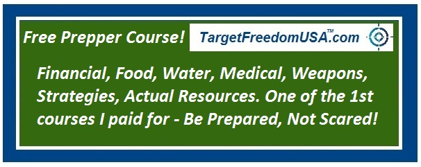 Prepper course Target Freedom USA article pic